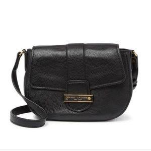 Marc Jacobs Black Travel Mini Messenger Bag